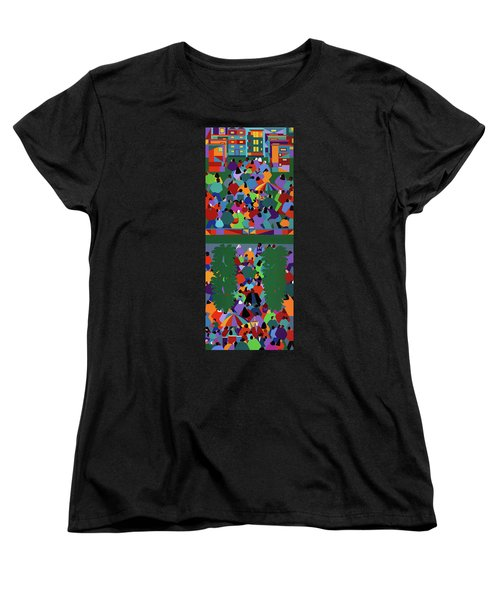 We The People Diptych Women's T-Shirt (Standard Fit)