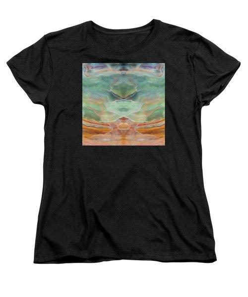 Finding Peace Women's T-Shirt (Standard Cut) by Ann Tracy