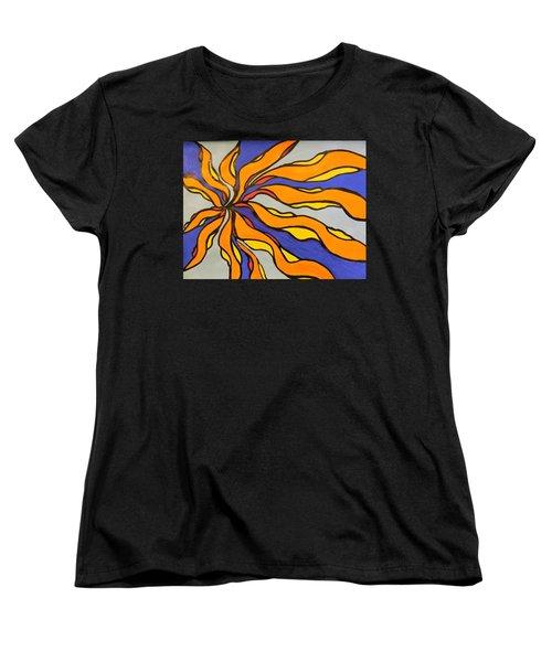 Fire, Ice, And Water Women's T-Shirt (Standard Cut)