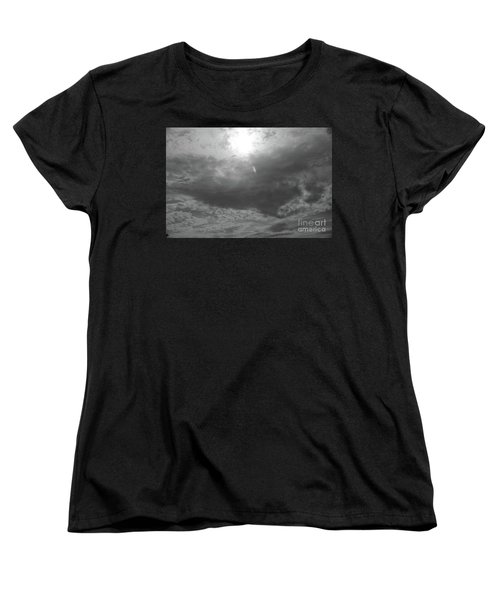 Women's T-Shirt (Standard Cut) featuring the photograph First Flakes Of The Season by Jesse Ciazza