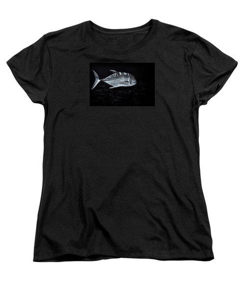 Fla-150811-nd800e-26063-bw-selenium Women's T-Shirt (Standard Cut) by Fernando Lopez Arbarello