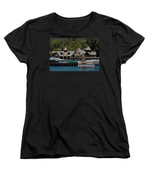 Fleur De Lac Mansion The Godfather II Women's T-Shirt (Standard Cut) by LeeAnn McLaneGoetz McLaneGoetzStudioLLCcom