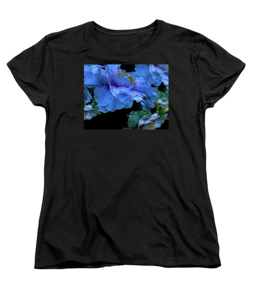 Floating Bouquet 14 Women's T-Shirt (Standard Cut) by Lynda Lehmann