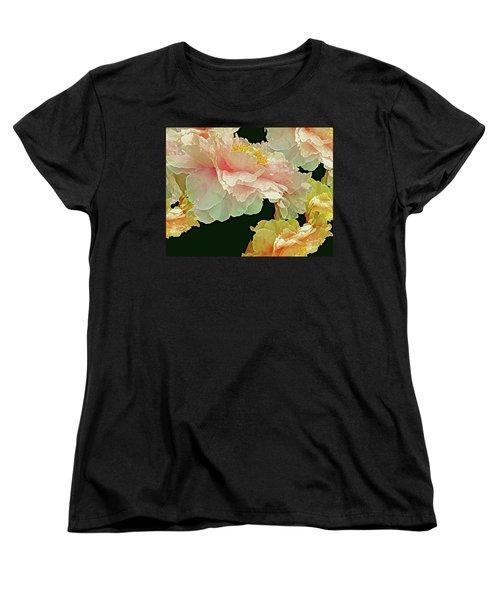 Floating Bouquet 31 Women's T-Shirt (Standard Cut) by Lynda Lehmann