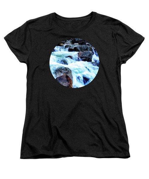 Flow Women's T-Shirt (Standard Cut) by Adam Morsa