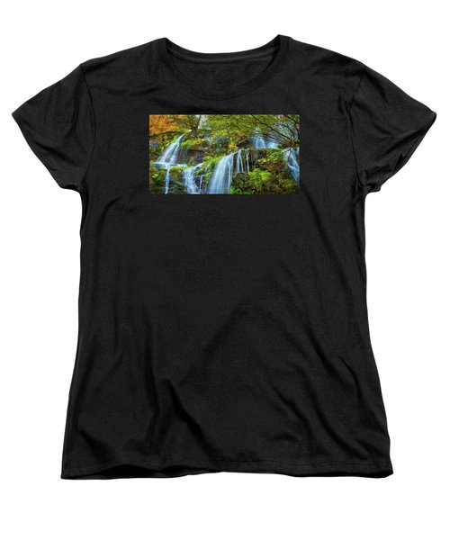 Women's T-Shirt (Standard Cut) featuring the photograph Flow by John Poon