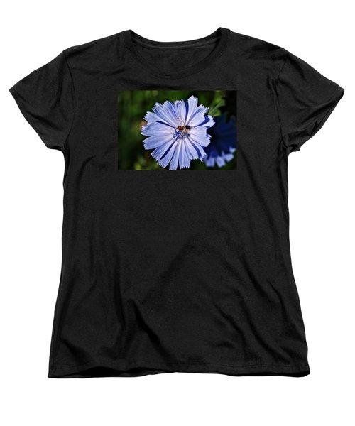 Flower And Bee 2 Women's T-Shirt (Standard Cut) by Joe Faherty