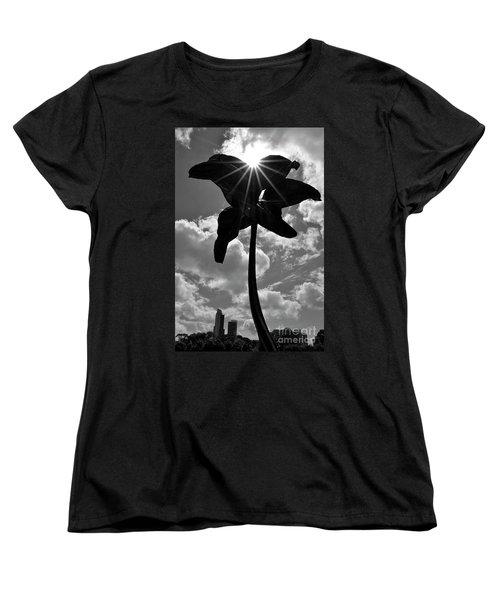 Women's T-Shirt (Standard Cut) featuring the photograph Flower Art by Zawhaus Photography