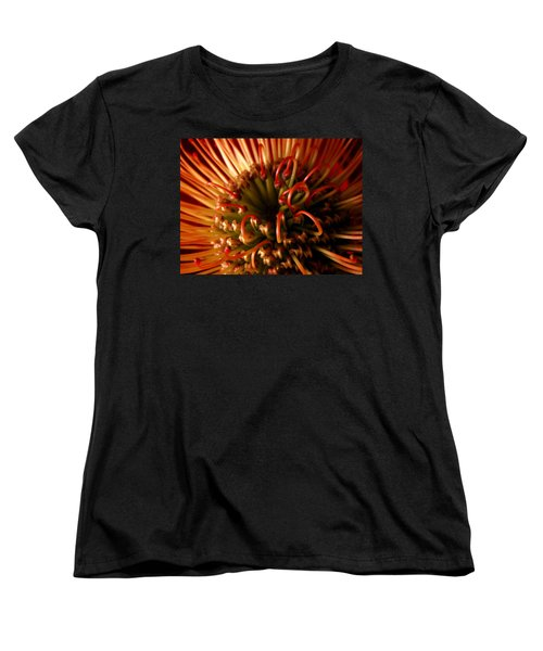 Women's T-Shirt (Standard Cut) featuring the photograph Flower Hawaiian Protea by Nancy Griswold