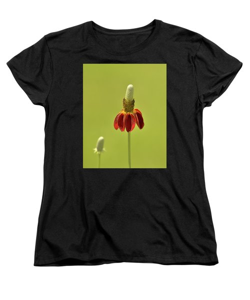 Flower  Women's T-Shirt (Standard Cut) by Nancy Landry