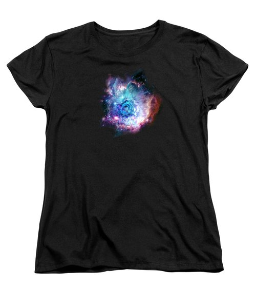 Flower Nebula Women's T-Shirt (Standard Cut)