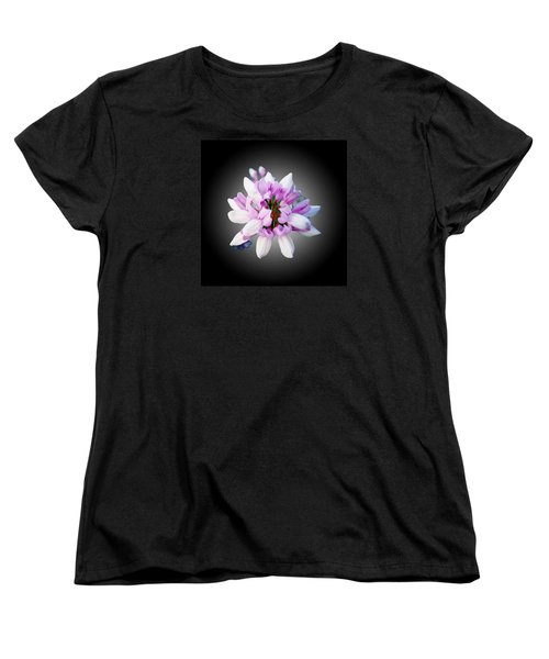 Women's T-Shirt (Standard Cut) featuring the photograph Flower  Securigera Varia by Mike Breau
