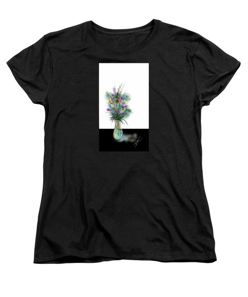 Flower Study One Women's T-Shirt (Standard Cut) by Darren Cannell