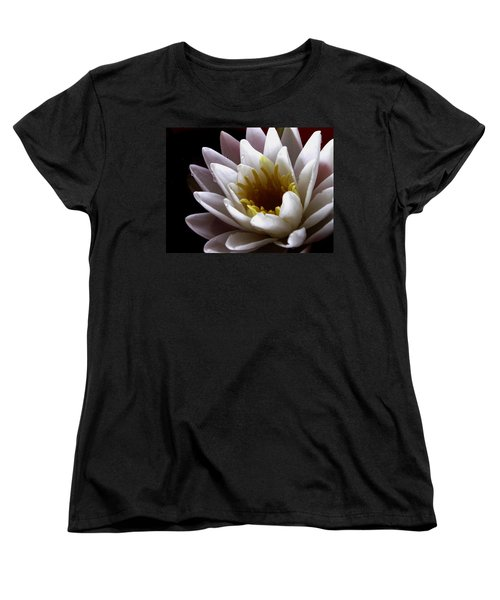 Women's T-Shirt (Standard Cut) featuring the photograph Flower Waterlily by Nancy Griswold