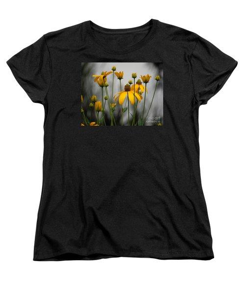 Flowers In The Rain Women's T-Shirt (Standard Cut) by Robert Meanor
