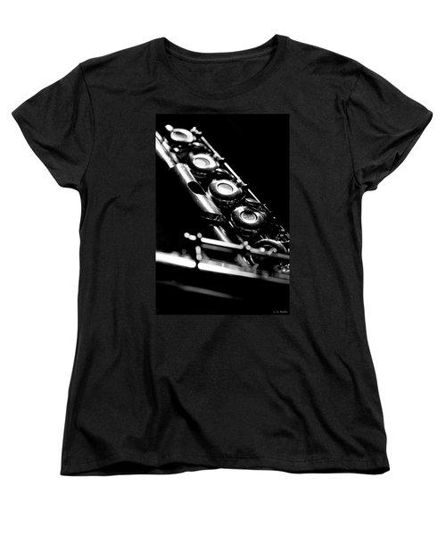 Flute Series IIi Women's T-Shirt (Standard Cut) by Lauren Radke