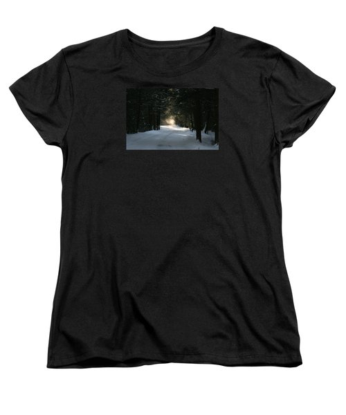 Women's T-Shirt (Standard Cut) featuring the photograph Flying Angel No.2 by Neal Eslinger