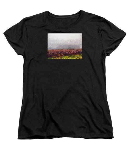 Foggy Morning Women's T-Shirt (Standard Cut) by Spyder Webb