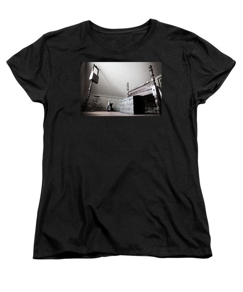 Foot Of The Bed Women's T-Shirt (Standard Cut) by Randall Cogle