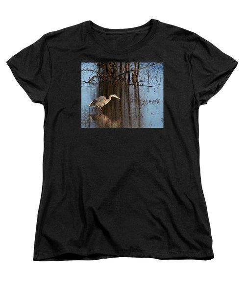 Foraging Women's T-Shirt (Standard Cut) by I'ina Van Lawick