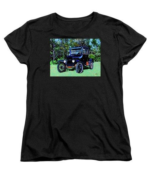 Ford Model T Women's T-Shirt (Standard Cut) by Stan Hamilton