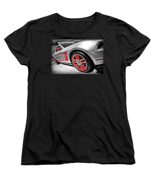Ford Mustang Boss 302 Women's T-Shirt (Standard Cut) by Gordon Dean II