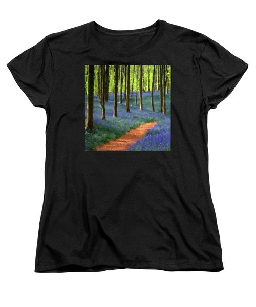Forest Path Women's T-Shirt (Standard Cut)