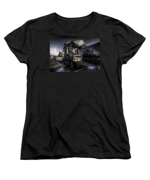 Forklift Women's T-Shirt (Standard Cut) by Yhun Suarez