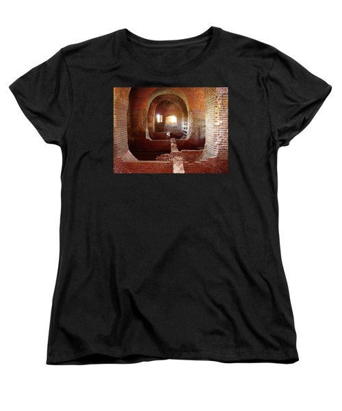 Fort Pulaski I Women's T-Shirt (Standard Cut) by Flavia Westerwelle