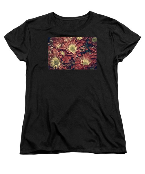 Foulee De Petales - 04b Women's T-Shirt (Standard Cut) by Variance Collections