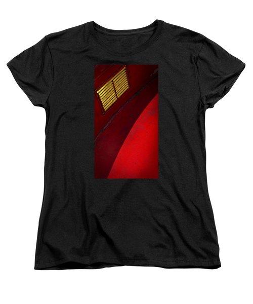 Women's T-Shirt (Standard Cut) featuring the photograph Foxy by Skip Hunt