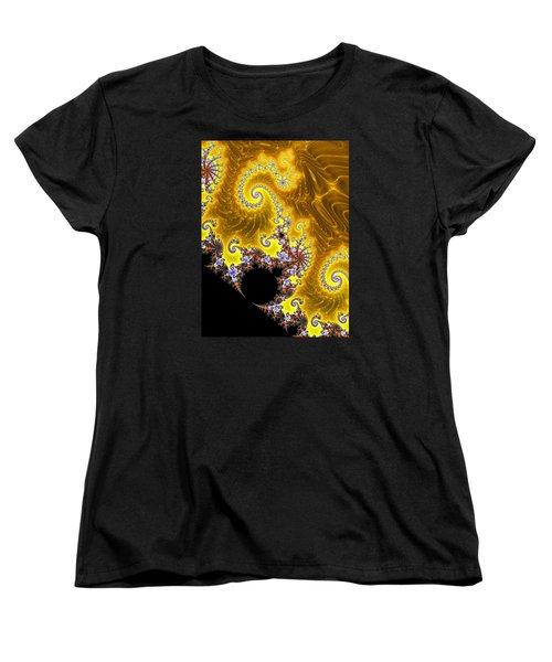 Women's T-Shirt (Standard Cut) featuring the photograph Fractal Coastline by Ronda Broatch