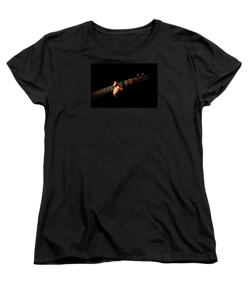 Fractal Frets Women's T-Shirt (Standard Cut) by Cameron Wood