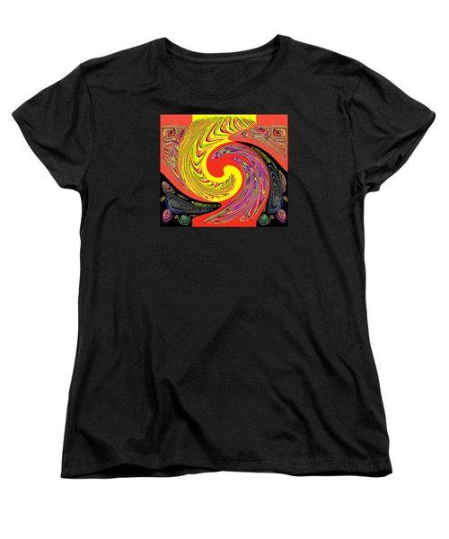 Frantic Life Women's T-Shirt (Standard Cut) by Jim Moore