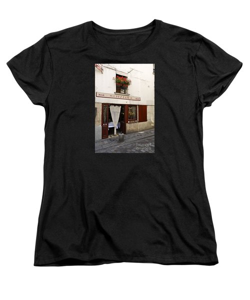 French Bistro Women's T-Shirt (Standard Cut) by Perry Van Munster