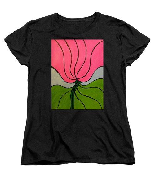 Friendship Flower Women's T-Shirt (Standard Cut)