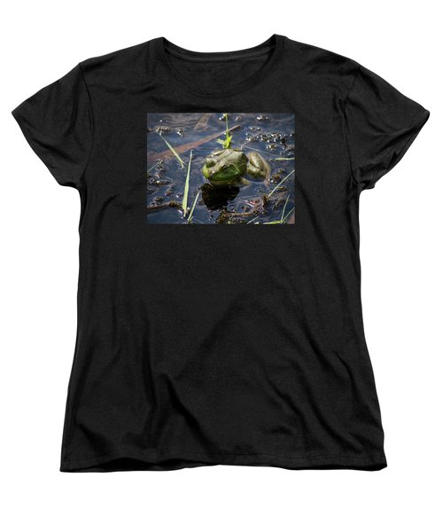 Frog  Women's T-Shirt (Standard Cut) by Trace Kittrell