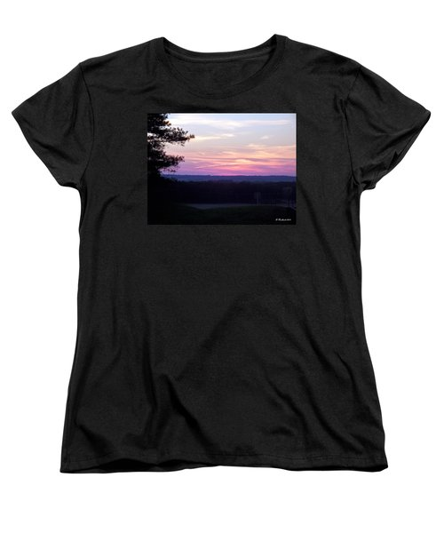 Women's T-Shirt (Standard Cut) featuring the photograph From Here To Eternity by Betty Northcutt