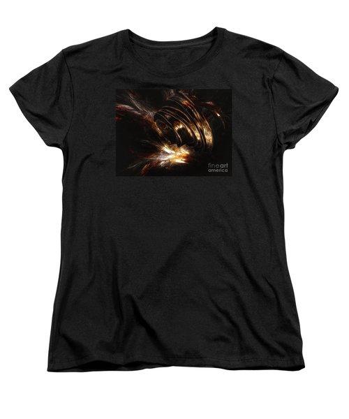 Women's T-Shirt (Standard Cut) featuring the digital art From The Beyond by Isabella F Abbie Shores FRSA