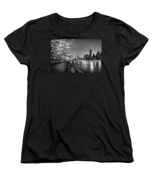Women's T-Shirt (Standard Cut) featuring the photograph Front Row Roosevelt Island by Az Jackson