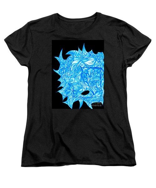 Women's T-Shirt (Standard Cut) featuring the drawing Frozen Desire by Jamie Lynn