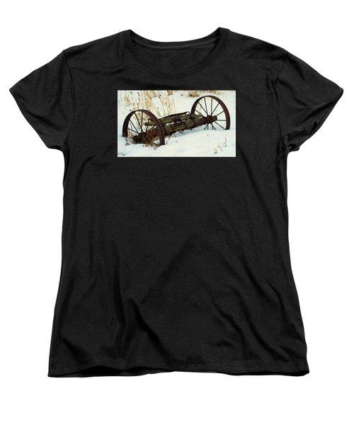 Frozen In Time Women's T-Shirt (Standard Cut) by Janice Westerberg