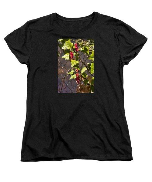 Women's T-Shirt (Standard Cut) featuring the photograph Fruits Of Autumn by Joan Bertucci