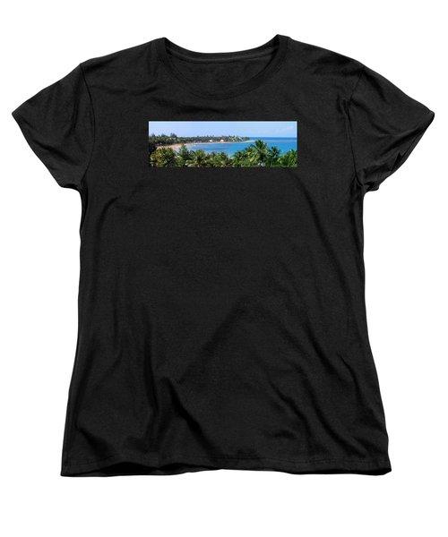 Full Beach View Women's T-Shirt (Standard Cut) by Suhas Tavkar