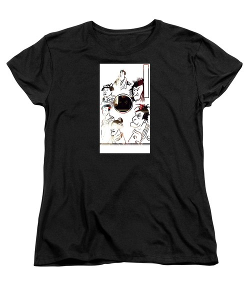 Full Circle Eyes Women's T-Shirt (Standard Cut) by John Jr Gholson