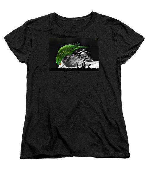 Women's T-Shirt (Standard Cut) featuring the photograph Fun Digital Art 01 by Kevin Chippindall