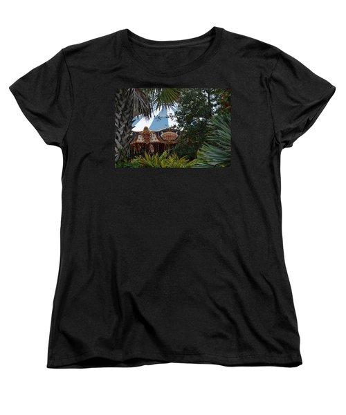 Women's T-Shirt (Standard Cut) featuring the photograph Fun Thru The Trees by Rob Hans