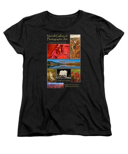 Gallery Ad Women's T-Shirt (Standard Cut) by Greg Norrell