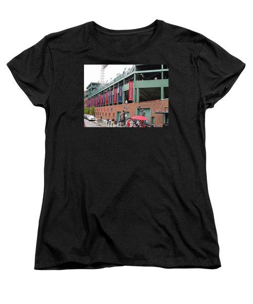 Game Day Women's T-Shirt (Standard Cut) by Barbara McDevitt