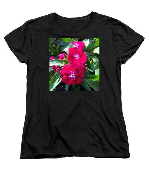 Women's T-Shirt (Standard Cut) featuring the photograph Garden Delight by Sandi OReilly